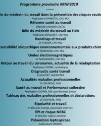 Programme provisoire #RNP2019