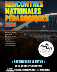 Rencontres Nationales Pédagogiques 2020